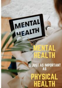 Mental illness is as serious as physical health